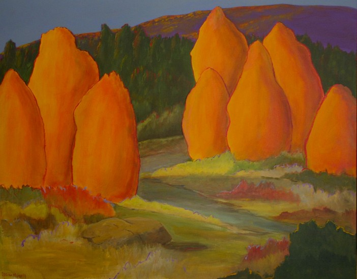 Regina Murphy, SPECIAL PLACES 12057 Acrylic on Canvas